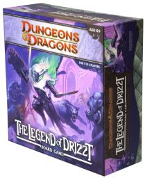 Настольная игра The Legend of Drizzt